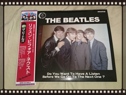 THE BEATLES / DO YOU WANT TO HAVE A LISTEN BEFORE WE GO ON TO THE NEXT ONE ?_b0042308_4571970.jpg
