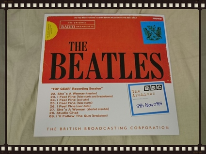 THE BEATLES / DO YOU WANT TO HAVE A LISTEN BEFORE WE GO ON TO THE NEXT ONE ?_b0042308_4572866.jpg