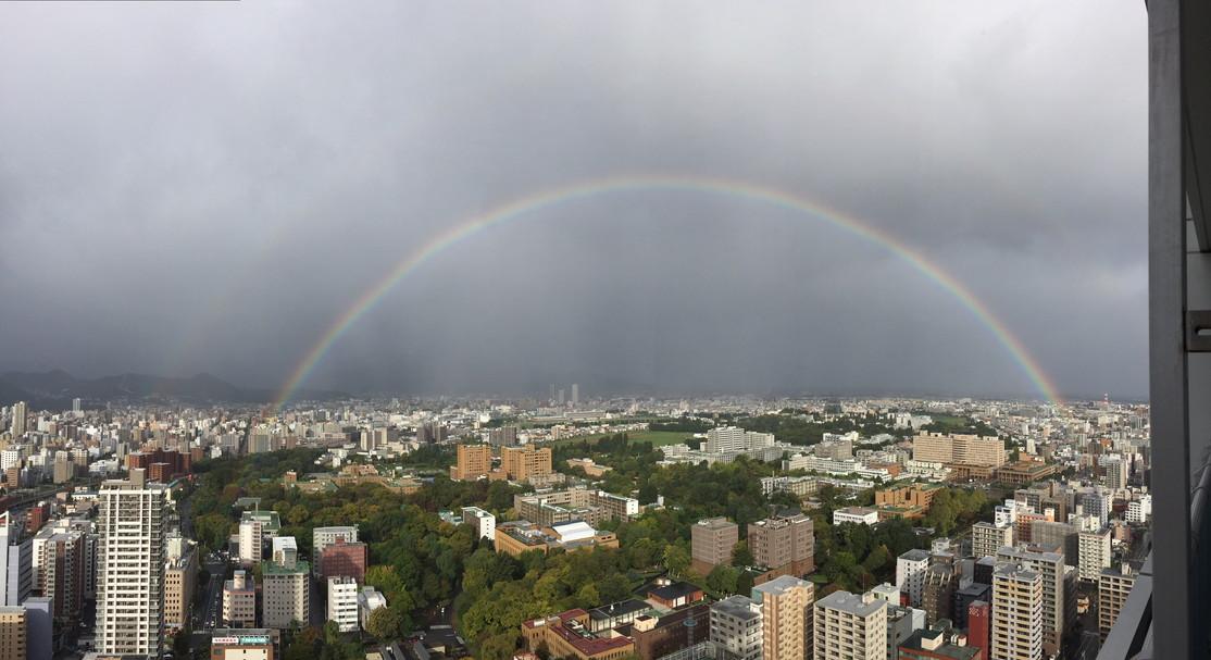 """2015年10月 『虹と嵐』 October, 2015 \""""Rainbow & Typhoon\""""_c0219616_13405694.jpg"""