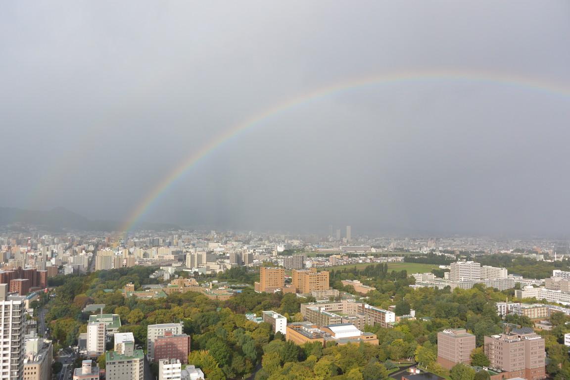 """2015年10月 『虹と嵐』 October, 2015 \""""Rainbow & Typhoon\""""_c0219616_19432154.jpg"""