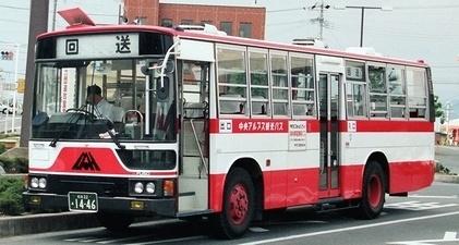 中央アルプス観光 三菱P-MP618K? +呉羽_e0030537_22500391.jpg