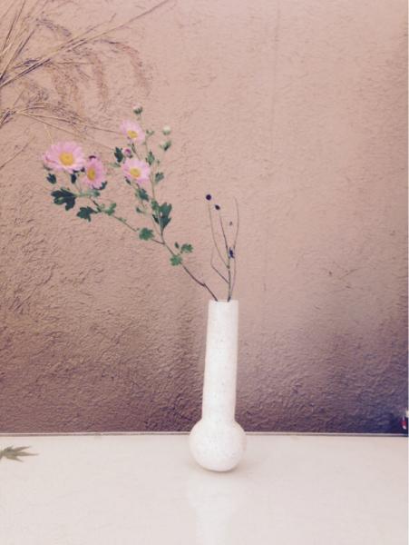 今日の 花器と花_b0132442_17404358.jpg