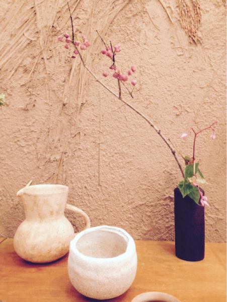 今日の 花器と花_b0132442_17404643.jpg
