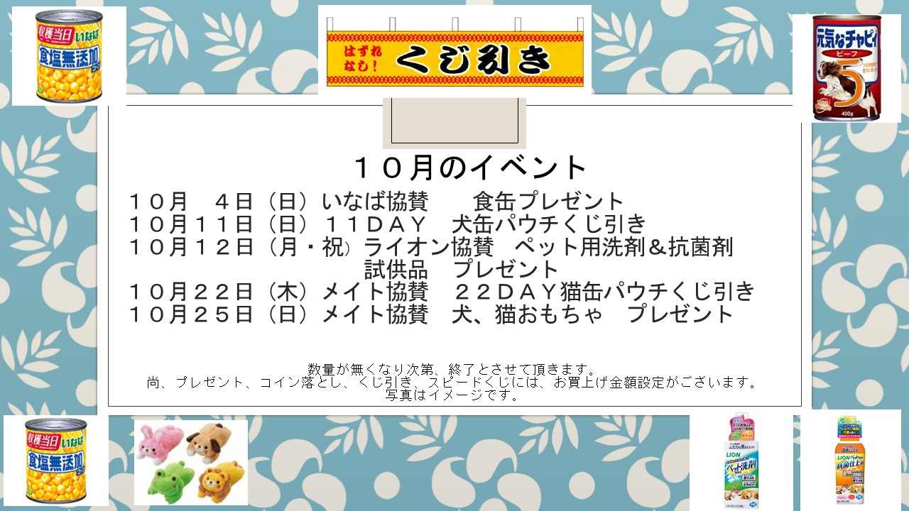 151002 10月のイベント告知_e0181866_1154124.jpg