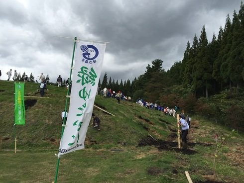 じゅね(えごま)〜いわての森林の感謝祭@浄法寺〜_b0199244_19213311.jpg