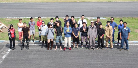 9月29日イワサキ走行会 開催レポート_b0163075_1255496.jpg