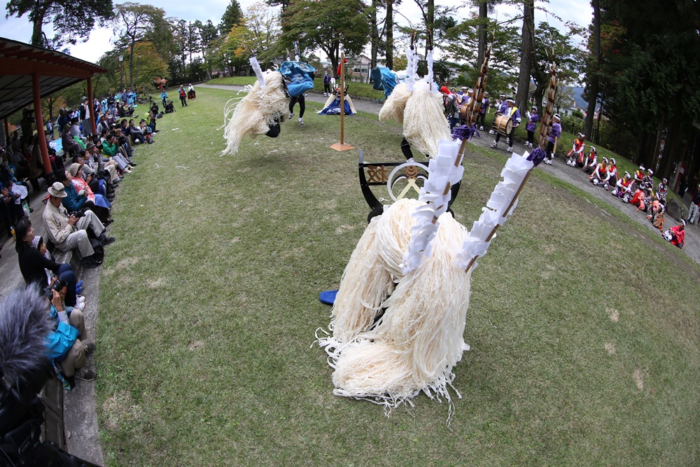 シシ踊り奉納_c0111229_18544976.jpg