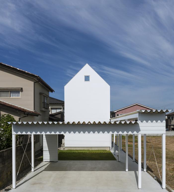 「白い家」第55回富山県デザイン展にて奨励賞_e0189939_19115747.jpg
