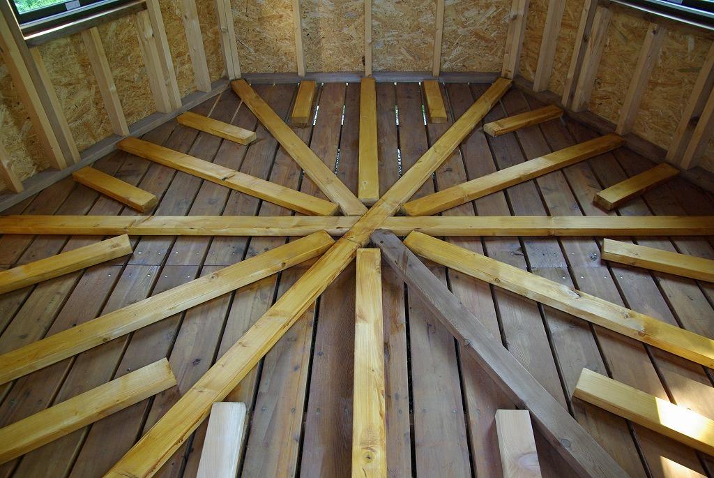 小屋作り・鍵穴と床の断熱材編_a0107184_2172877.jpg