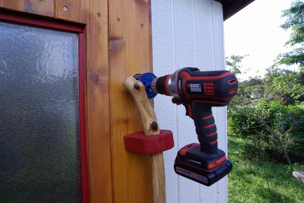 小屋作り・鍵穴と床の断熱材編_a0107184_291436.jpg