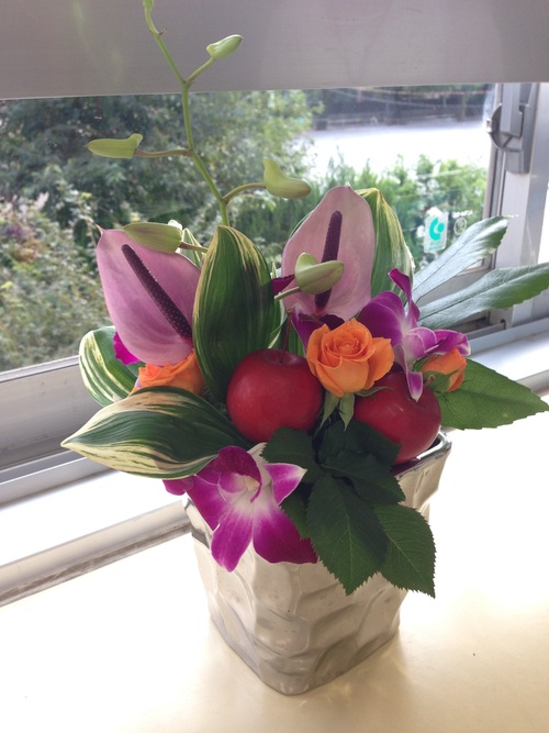 難しい花材に挑戦_d0144095_205972.jpg