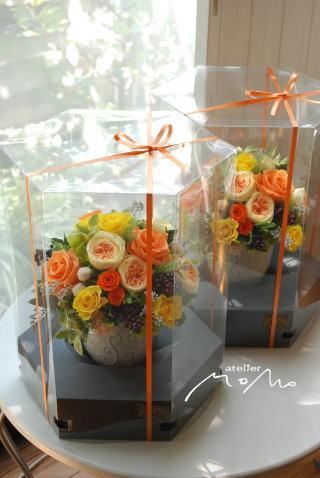 ビタミンカラーのアレンジ!_a0136507_21325470.jpg