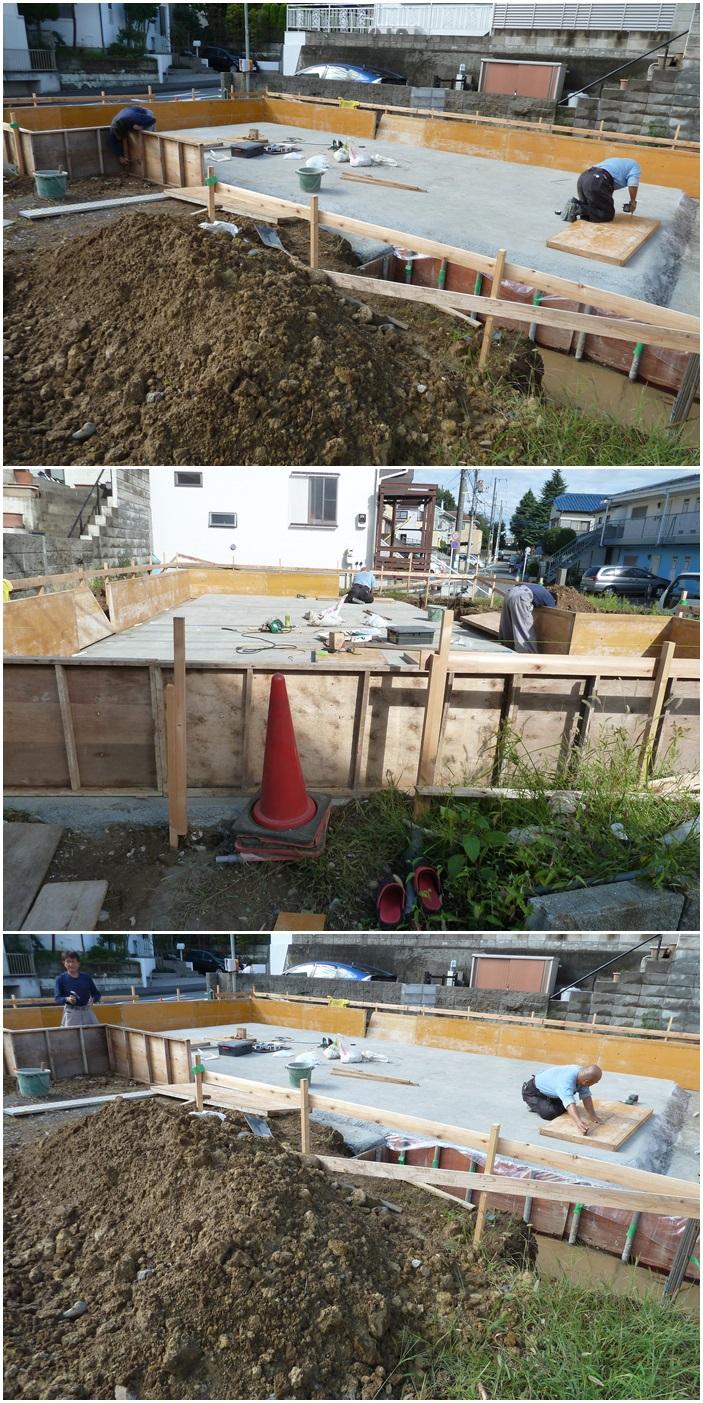 横浜市青葉区の家☆基礎工事はじまりました。_c0152341_12321853.jpg