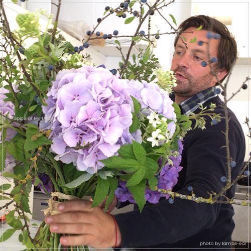 シリルの紫陽花のブーケ_f0151946_0551636.jpg