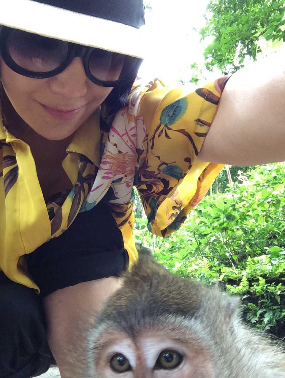 猿の泥棒さん☆_d0339884_17451904.jpg
