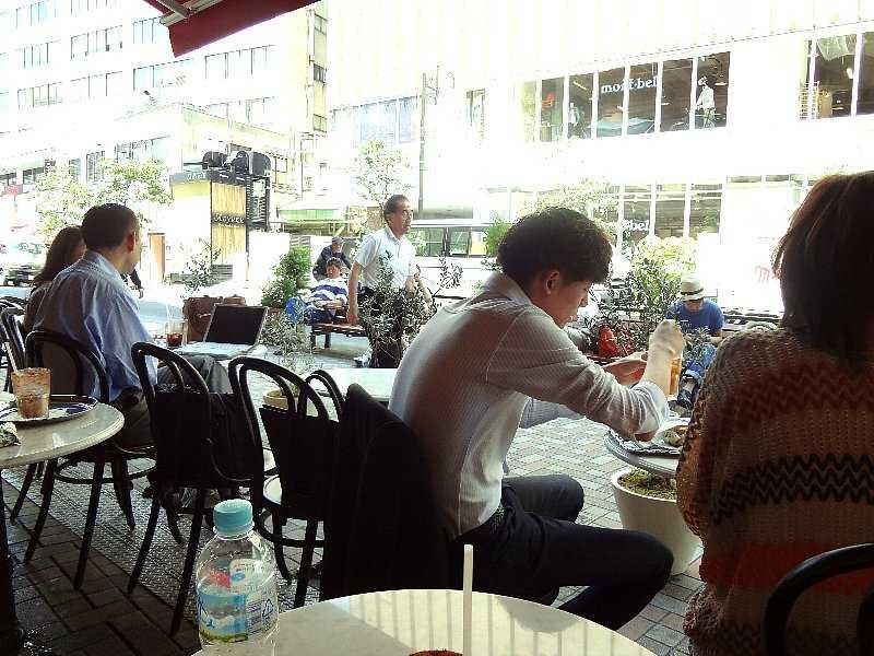 夏日!オープンカフェで☆_d0339884_17554326.jpg