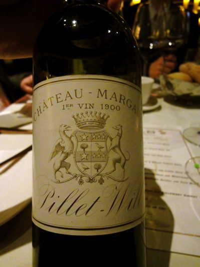 100年前のワインでディナー!_d0339884_17562549.jpg