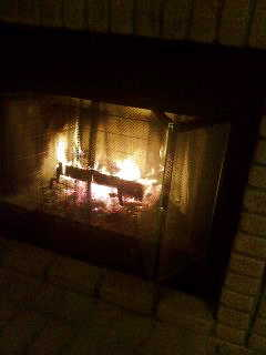 お初!暖炉に火をいれました☆_d0339884_17565541.jpg