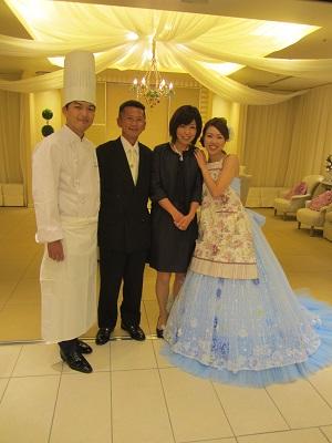 シルバーウィークは またまた東京 あきなちゃん結婚式~♪_e0123286_18384566.jpg