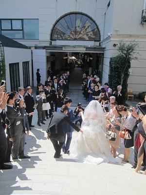 シルバーウィークは またまた東京 あきなちゃん結婚式~♪_e0123286_1893313.jpg