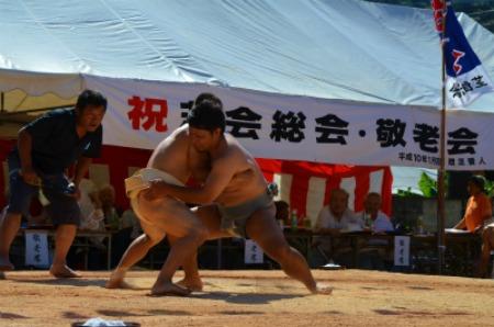 シマが変われば相撲も変わる♪ 芝集落♪_e0028387_0134593.jpg