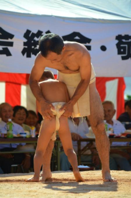シマが変われば相撲も変わる♪ 芝集落♪_e0028387_0151679.jpg