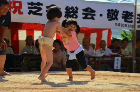 シマが変われば相撲も変わる♪ 芝集落♪_e0028387_0153263.jpg