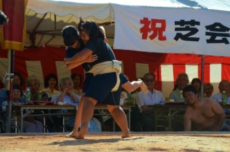 シマが変われば相撲も変わる♪ 芝集落♪_e0028387_0162932.jpg