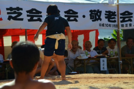 シマが変われば相撲も変わる♪ 芝集落♪_e0028387_0172377.jpg