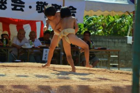 シマが変われば相撲も変わる♪ 芝集落♪_e0028387_017873.jpg
