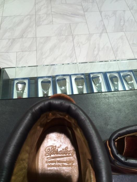登山靴(パラブーツ)の街履き用お手入れ!_b0226322_10524742.jpg