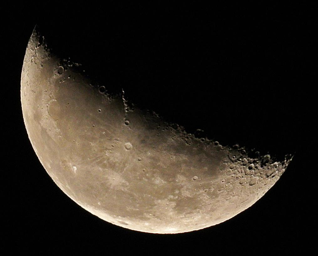 2015年10月6日未明の月&地球照(月齢20.5)、金星_e0089232_04011947.jpg