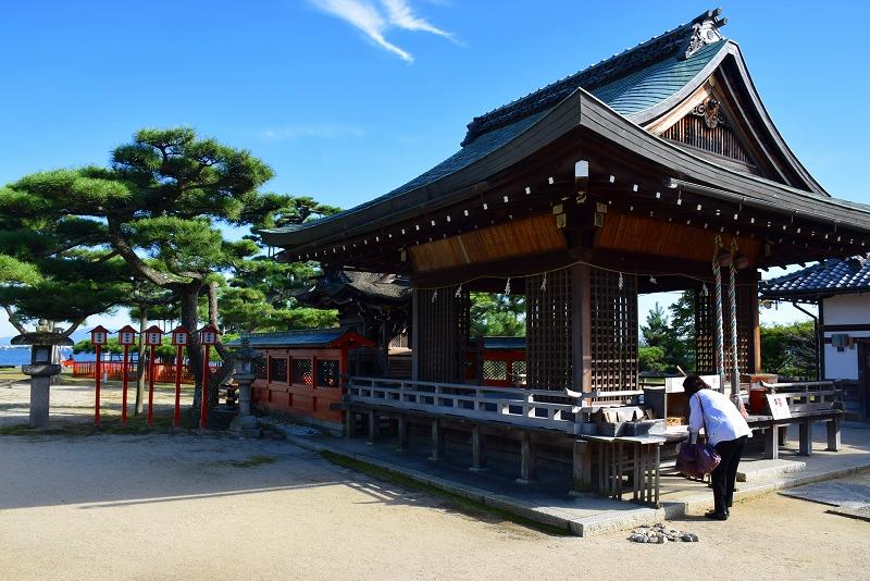 ①日吉大社(坂本)の摂社の一つ「唐崎神社」20151003_e0237645_1630593.jpg