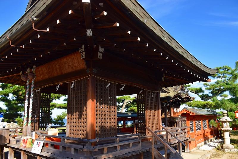 ①日吉大社(坂本)の摂社の一つ「唐崎神社」20151003_e0237645_16332191.jpg