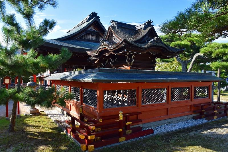①日吉大社(坂本)の摂社の一つ「唐崎神社」20151003_e0237645_16333436.jpg