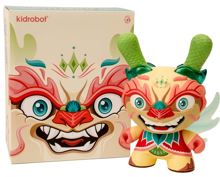 Imperial Lotus Dragon 8 inch Dunny by Scott Tolleson _e0118156_2341103.jpg