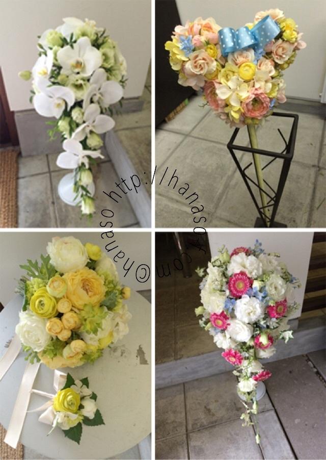 手作りのブーケや花冠など_c0198981_22584767.jpg