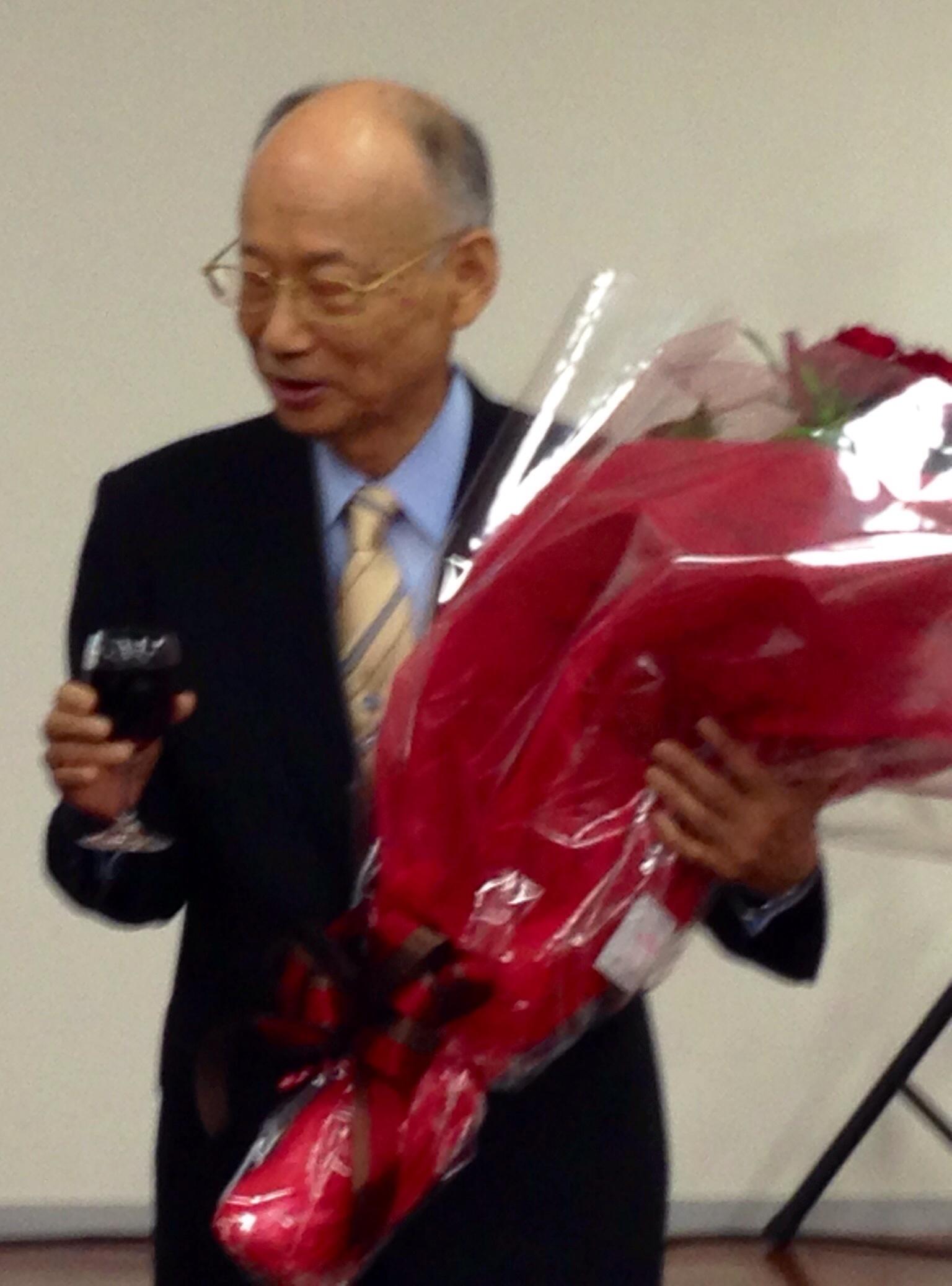 ノーベル賞受賞  大村智先生_c0100195_10060739.jpg