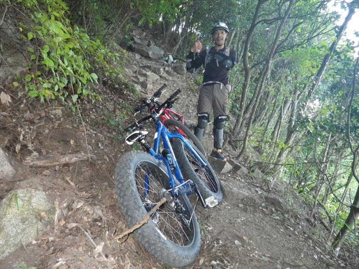 2015.10.06(火) ファットバイク六甲山サイクリング_a0062810_13453642.jpg
