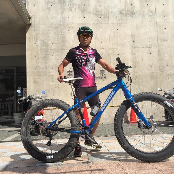 2015.10.06(火) ファットバイク六甲山サイクリング_a0062810_13523173.jpg