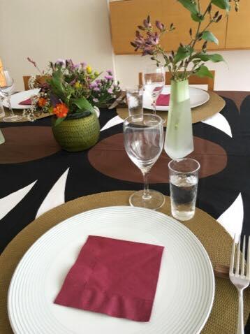 2015年10月料理教室 スーパーキヌアのサラダ スペアリブと冬瓜のモロッコ風 根菜のグラスデザート_e0134337_11445636.jpg