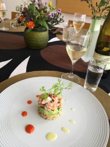 2015年10月料理教室 スーパーキヌアのサラダ スペアリブと冬瓜のモロッコ風 根菜のグラスデザート_e0134337_11453454.jpg