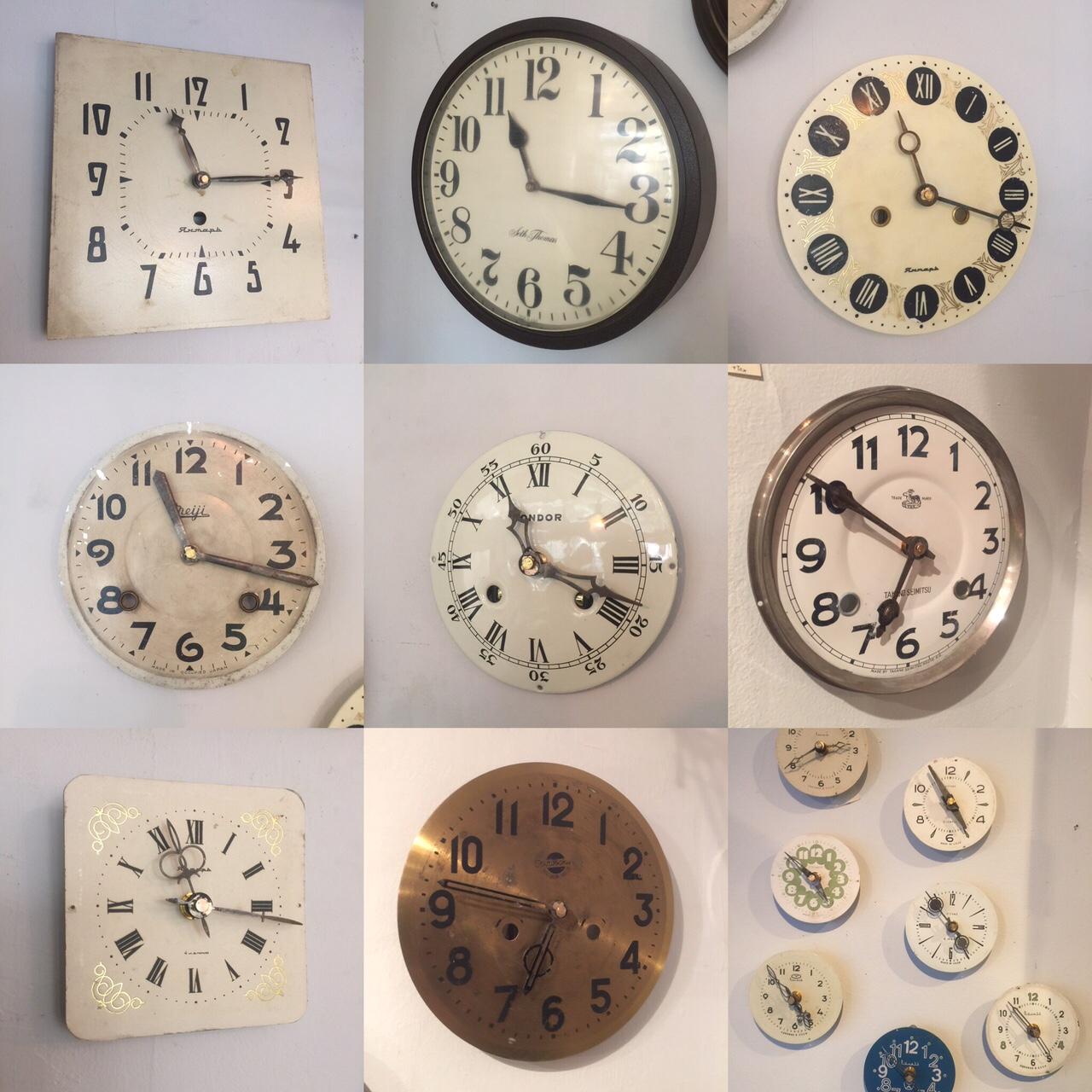 Reproduction clocks追加。_f0068850_1140421.jpg
