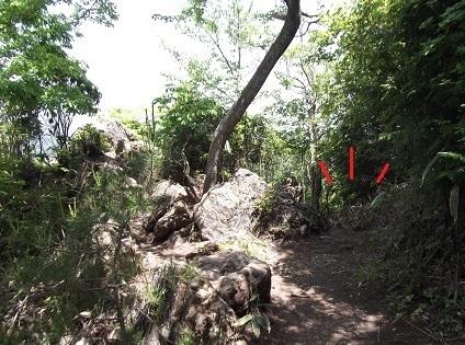 御岩神社3 頂上にある石2つ_a0064067_15114198.jpg