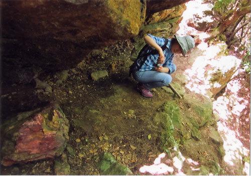 御岩神社3 頂上にある石2つ_a0064067_15114936.jpg