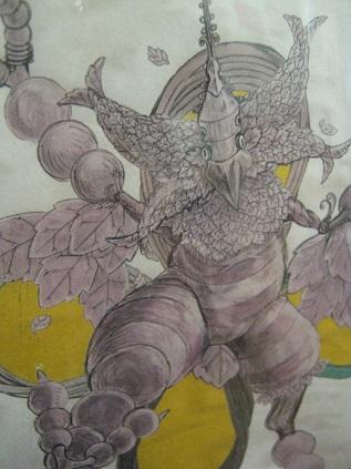 たまごの工房 企画展 「怪獣図鑑展 8」 その6_e0134502_1304174.jpg