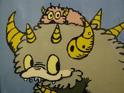 たまごの工房 企画展 「怪獣図鑑展 8」 その6_e0134502_135095.jpg