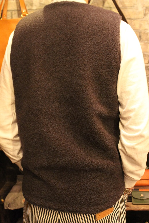 "Jackman ""SWEAT VEST & MELTON AWARD JACKET\"" ご紹介_f0191324_9183516.jpg"