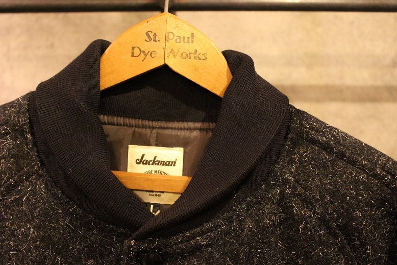 "Jackman ""SWEAT VEST & MELTON AWARD JACKET\"" ご紹介_f0191324_9211344.jpg"