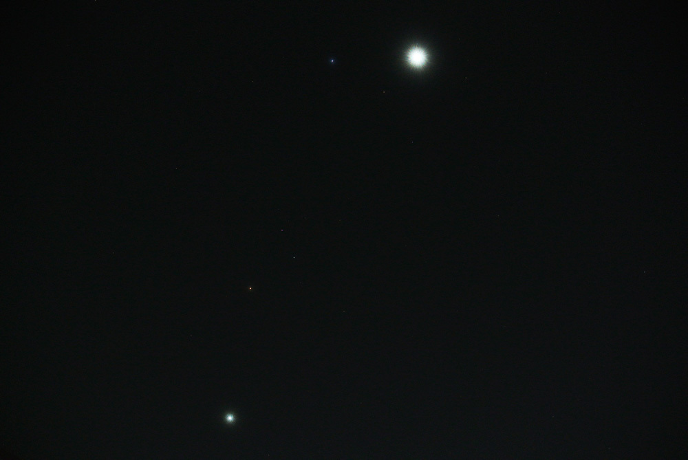 月、金星、レグルス、火星、木星クインテット(2015年10月8日)_e0089232_05095039.jpg